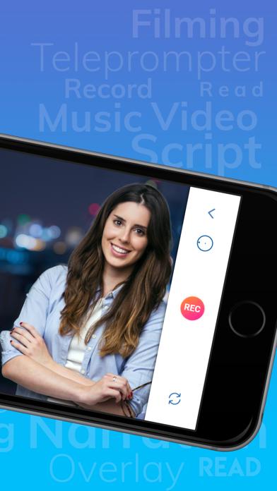 Teleprompter' Screenshot on iOS