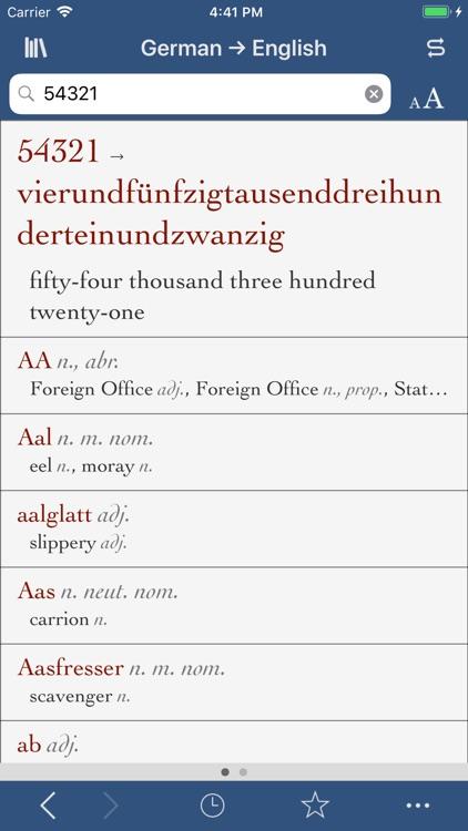 Ultralingua German-English