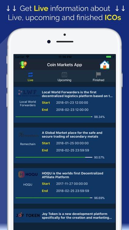 Coin Markets - Crypto Tracker screenshot-5