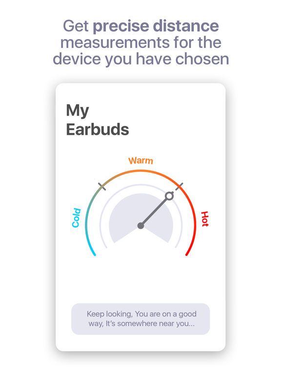 Bluetooth Headphones Finder screenshot