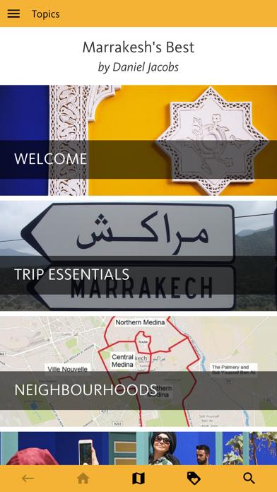 Marrakesh's Best Travel Guide screenshot 1
