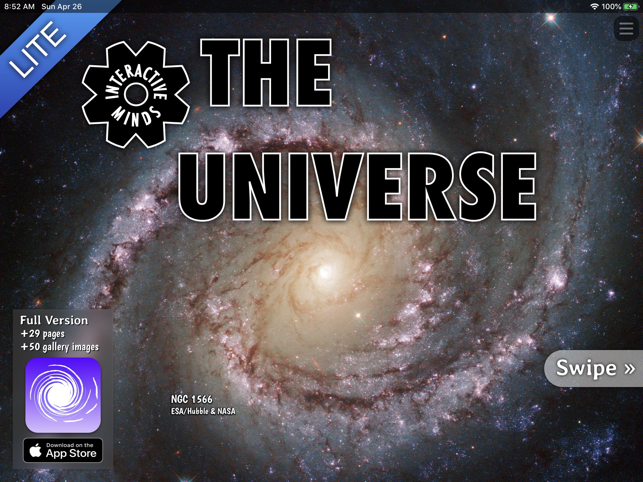 ‎The Universe (Lite) Screenshot