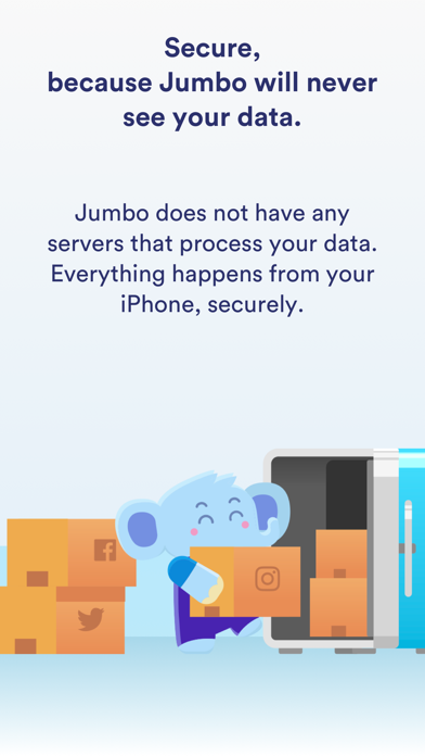 Jumbo: Privacy+ app image