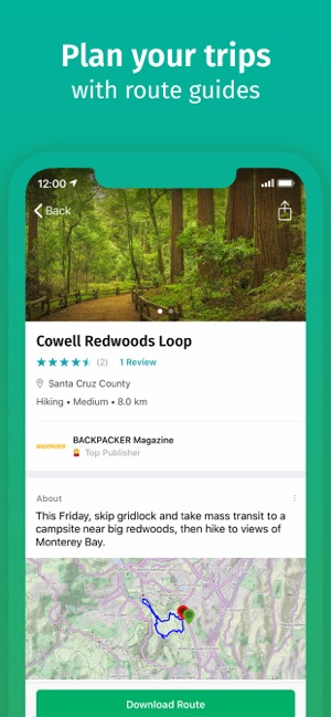 ViewRanger: Hike, Ride or Walk on the App Store