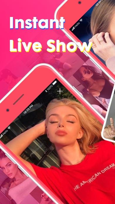 PINK Video Chat - Make Friends Screenshot