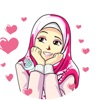 Sticker Cute Hijab Islamic