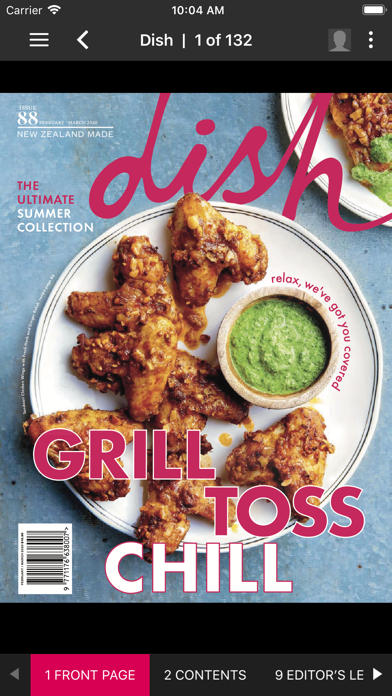 Dish MagazineScreenshot of 2
