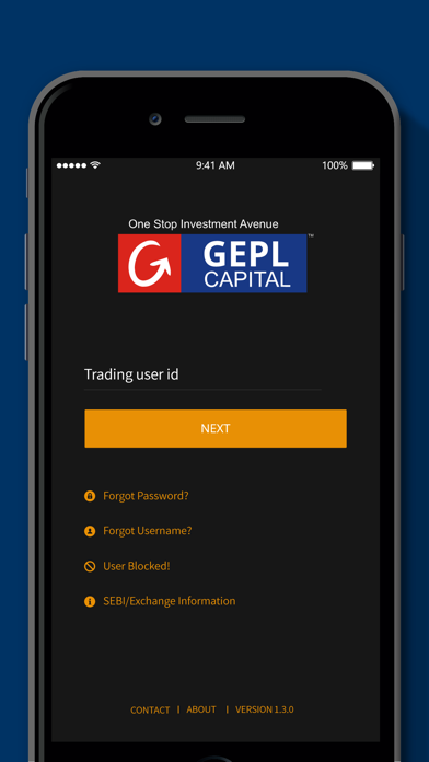 GEPL Advance Mobile screenshot one