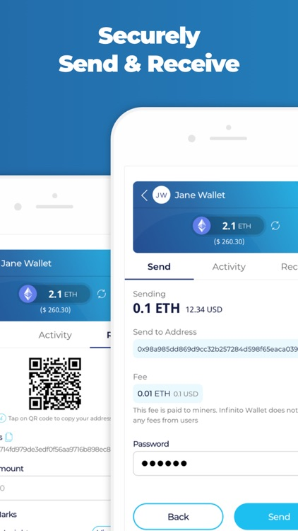 Infinito Wallet - Crypto Safe screenshot-3