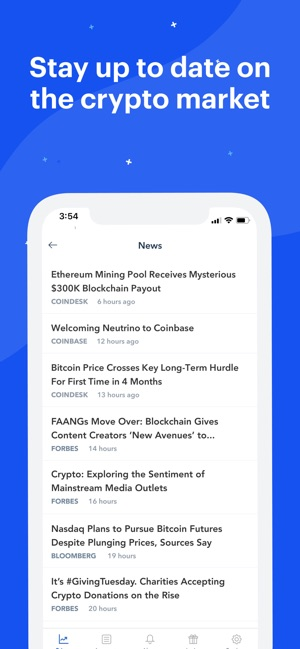 Coinbase – Buy & sell Bitcoin on the App Store