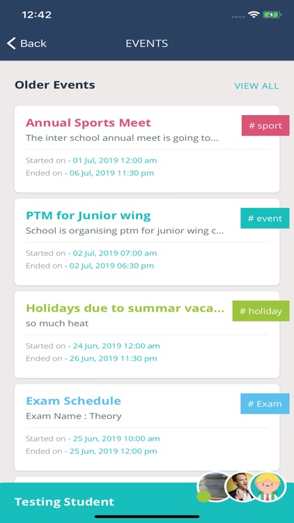 Schoollog - Parent App screenshot-4