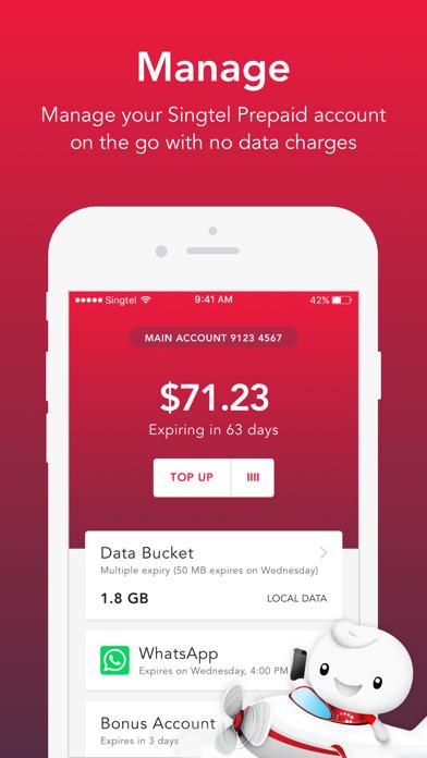 Singtel Prepaid hi!Appのおすすめ画像1