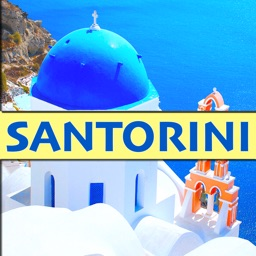 Santorini - Route Map Offline