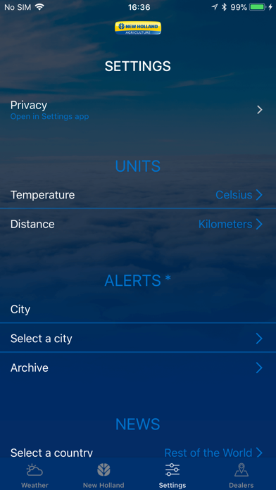 Weather forecast - New Hollandのおすすめ画像3