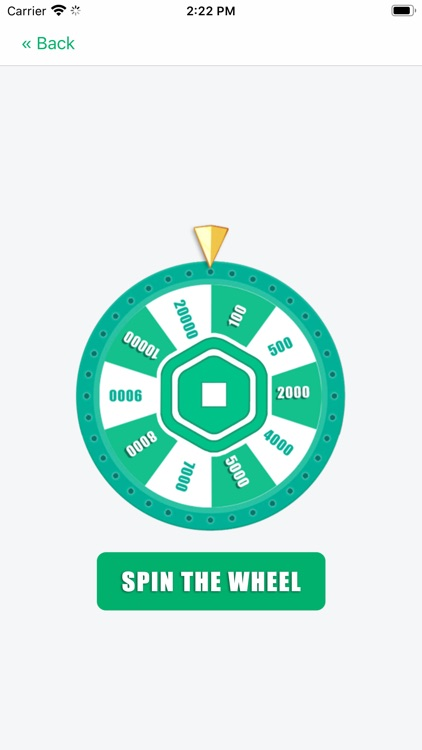 Robux Spin Wheel for Roblox