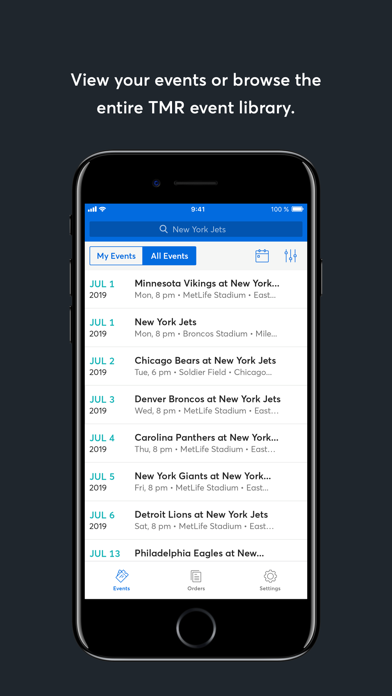 TradeDesk by Ticketmaster Screenshot