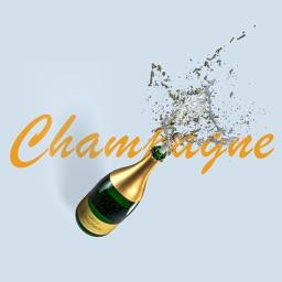 Champagne Surprise Stickers
