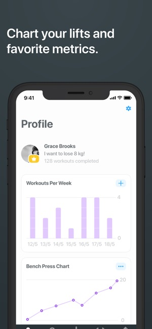 Strong Workout Tracker Gym Log on the App Store