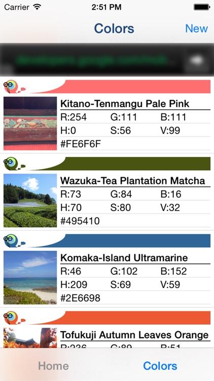 ColorColl - Color Picker Apps