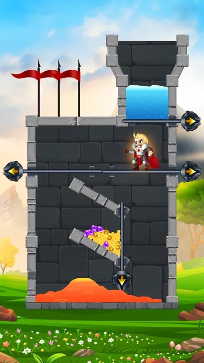 Rescue Knight - Hero Puzzle screenshot-4
