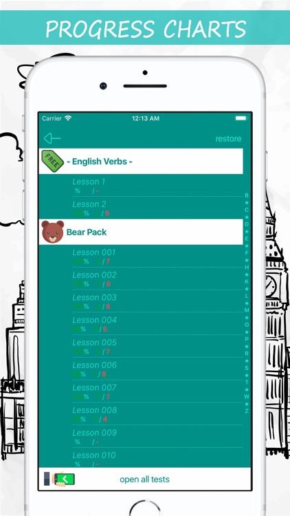 English Tests: Verbs screenshot-4