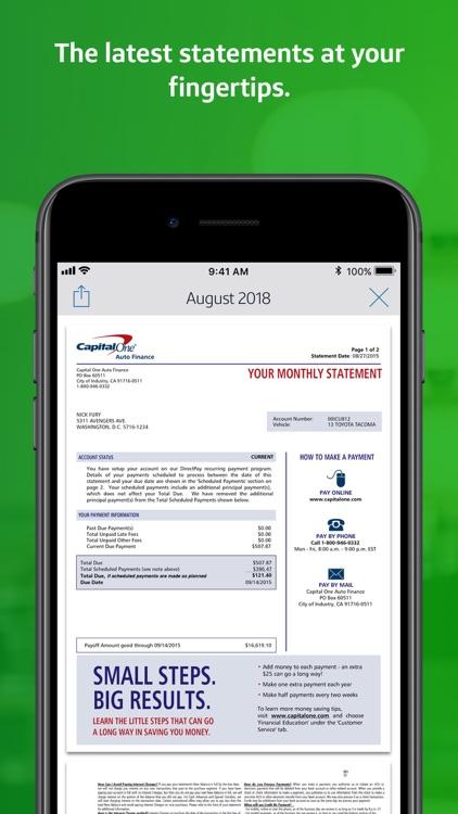 Capital One Mobile screenshot-9