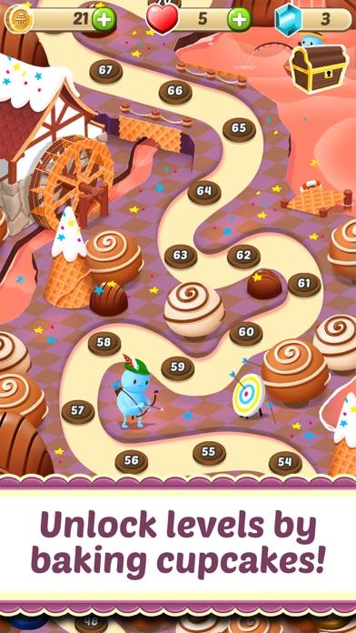 Mahjong Cupcake Bakery for windows pc