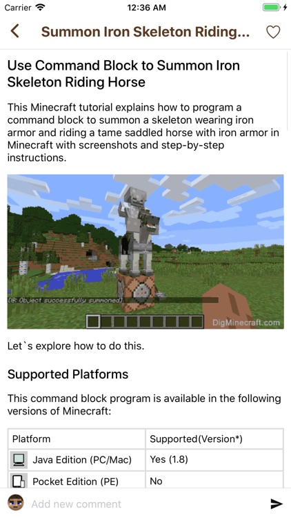 Wiki Discussion for Minecraft screenshot-7