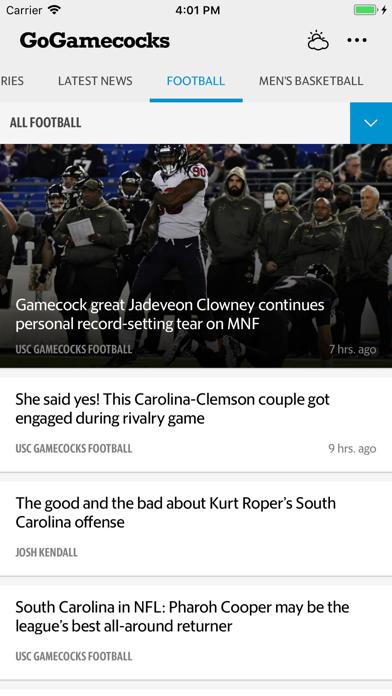 GoGamecocks Screenshot