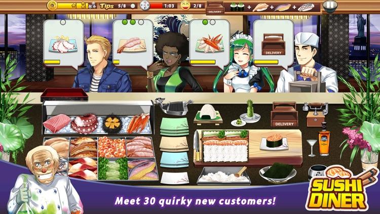 Sushi Diner – Fun Cooking Game