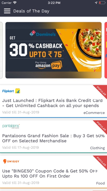 Offers Coupons Deals App screenshot-9