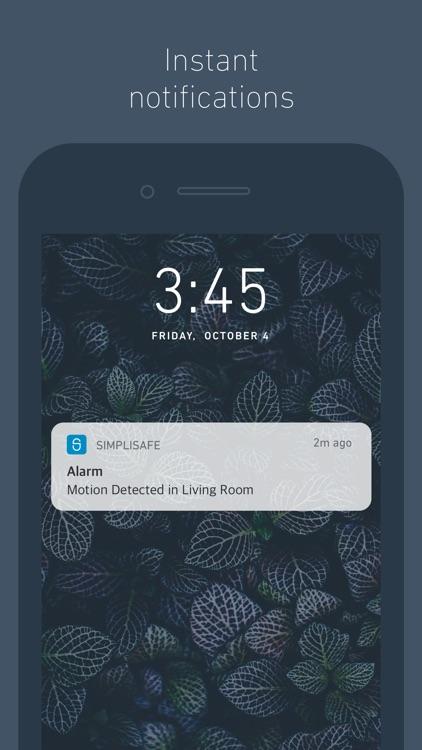 SimpliSafe Home Security App screenshot-3