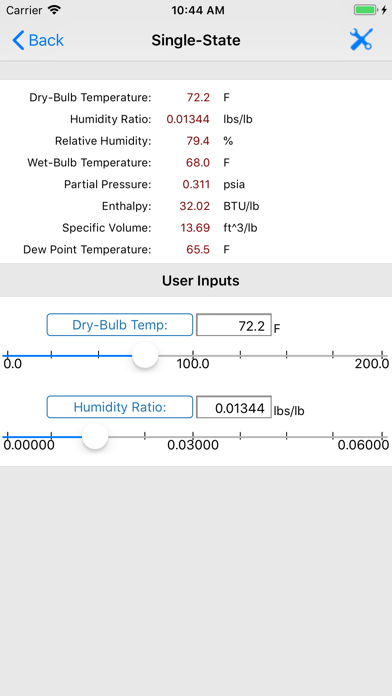 Hvac Psychrometric Lt review screenshots