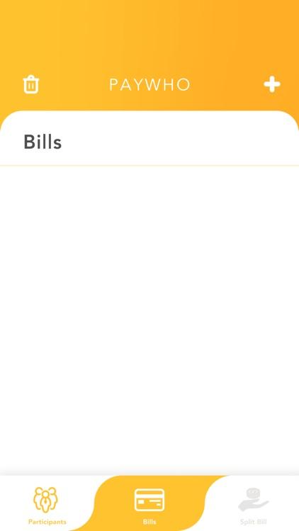PayWho: Quick Split Bill screenshot-4