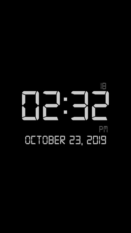 Titanium Digital Clock screenshot-3