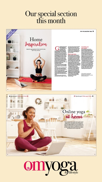 OM Yoga Magazine screenshot four