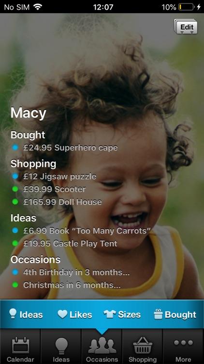 Gift Plan screenshot-4