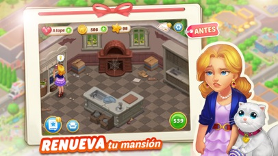 Screenshot for Matchington Mansion in Spain App Store
