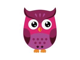 Owl Smiley Stickers