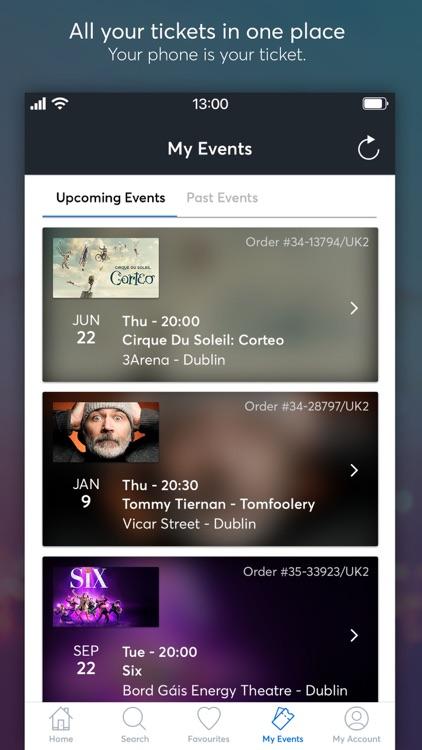 Ticketmaster IE screenshot-3