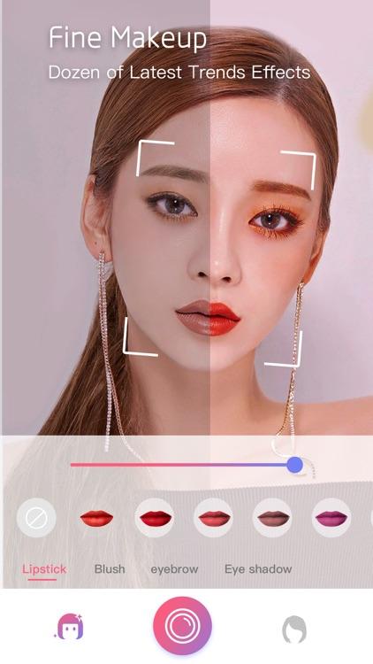 Face Makeup&HairStyles Changer screenshot-5