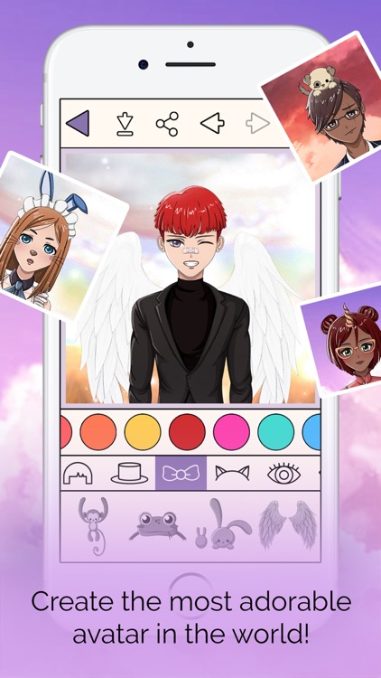 Anime Avatar Creator screenshot-4