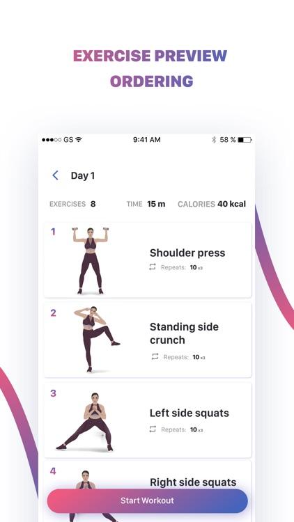 FW: Weight Loss Workouts +Diet screenshot-3