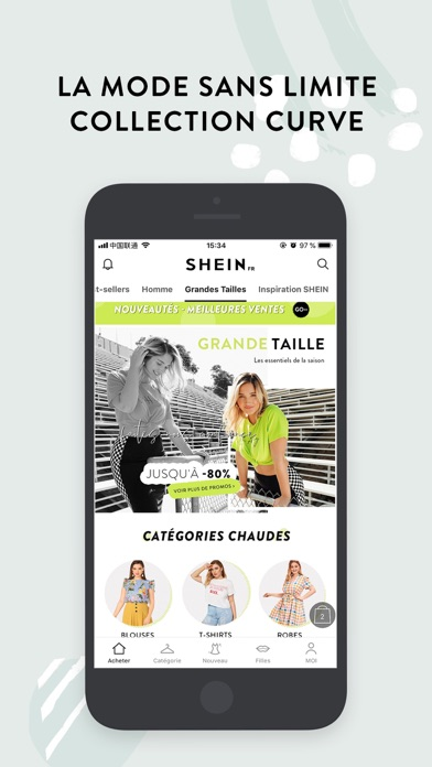 Screenshot for SHEIN-Vente Privee Mode Femme in Lebanon App Store
