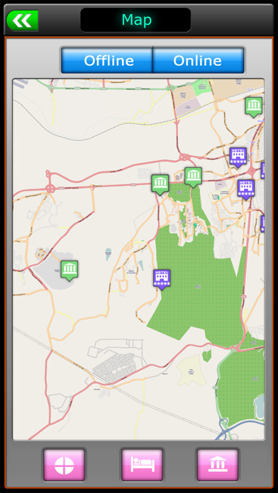 Ankara Offline Map Guide screenshot four