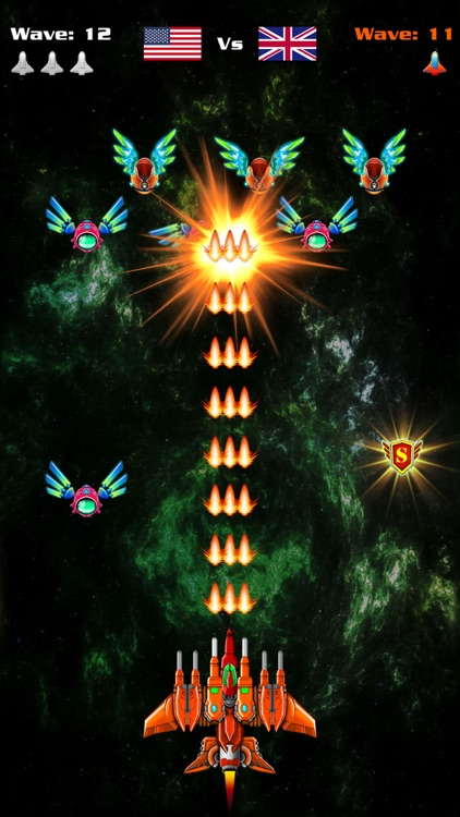 Galaxy Attack: Alien Shooter screenshot-2