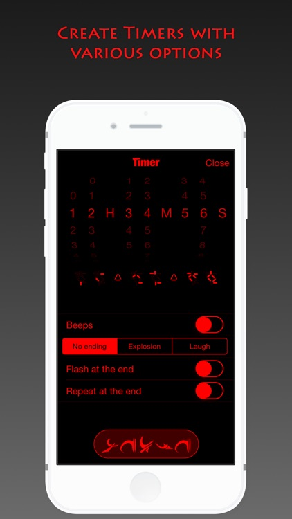 Predator Clock - Alien time screenshot-3
