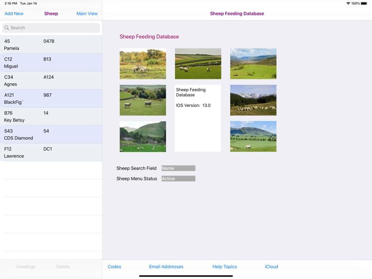 Sheep Feeding Database screenshot-4