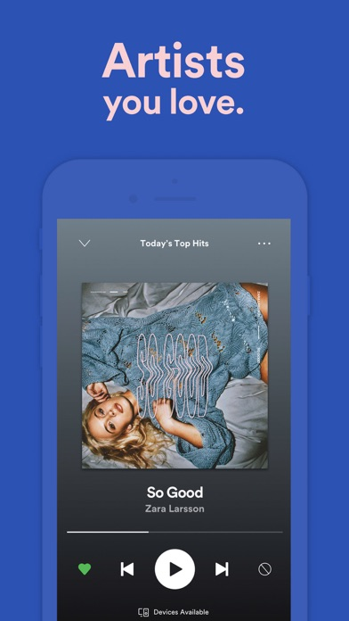 Spotify: Music and Podcasts app image