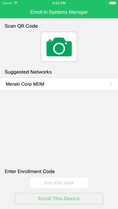 Meraki Systems Manager by Meraki (iOS, United States